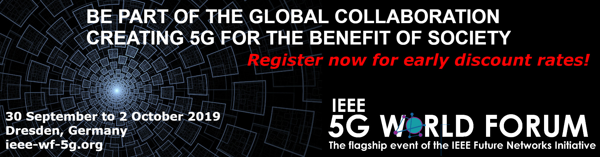 Ad for 5G World Forum