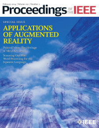 Proceedings of the IEEE, February 2014 - Applications of Augmented Reality